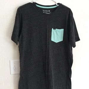 Hurley - Teal, Gray Men's Shirt